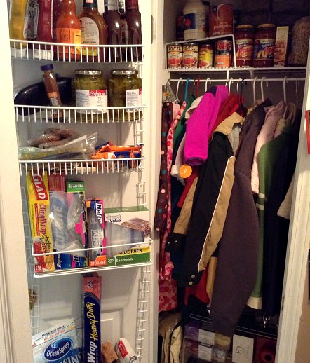 Amazing Coat Closet. I Still Dream Of The Day When We Will Be Able To Afford A  House With A Garage, Basement, And Walk In Pantry. But Until That Day  Comes, ...