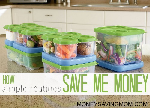 how simple routines save me money