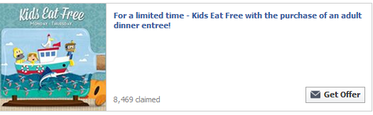 Kid's Eat Free at Red Lobster