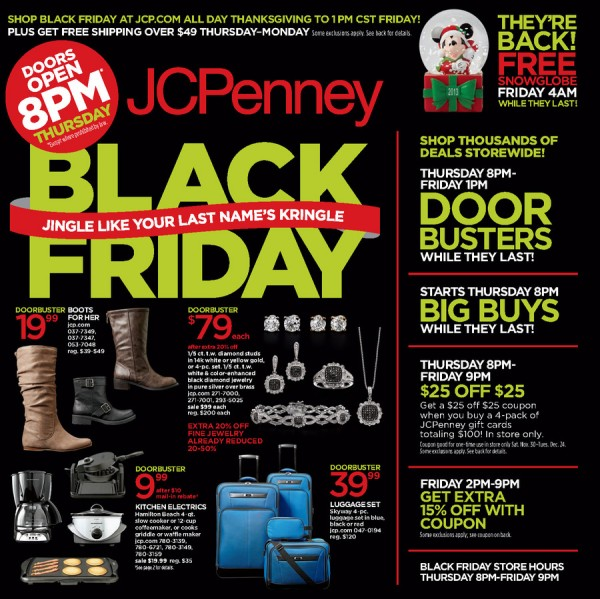 Jcpenney In Store Flyer