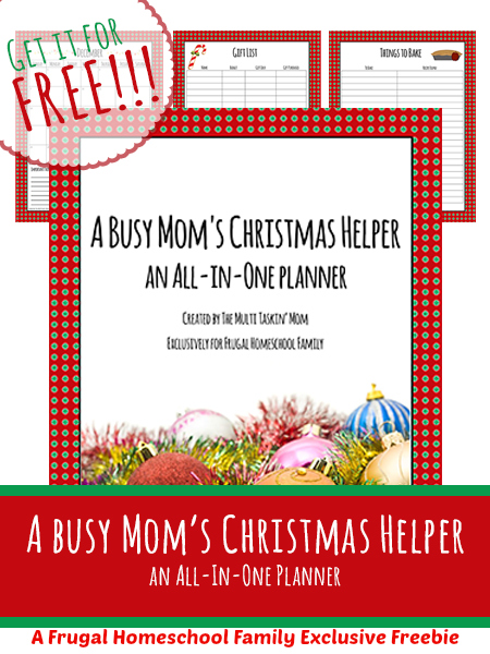 Busy Mom's Christmas Planner