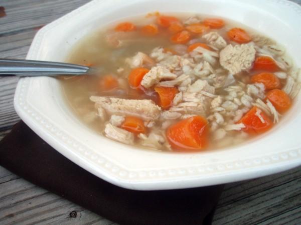 Chicken Barley Soup