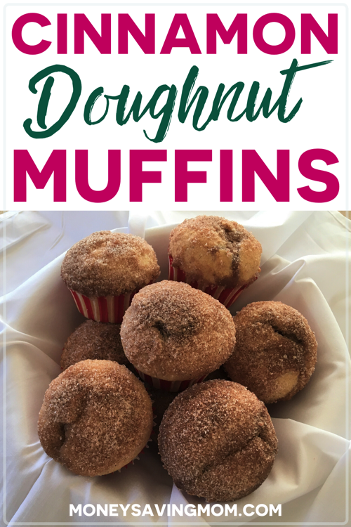 Cinnamon Doughnut Muffins Recipe