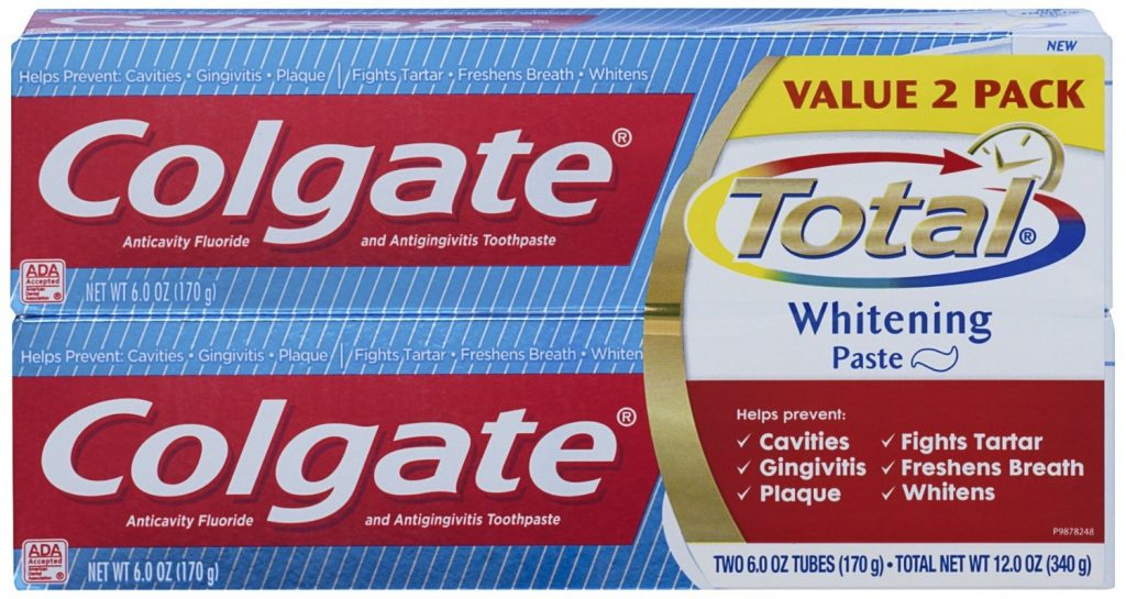 Colgate Total Whitening Toothpaste (12-Ounce) Deal