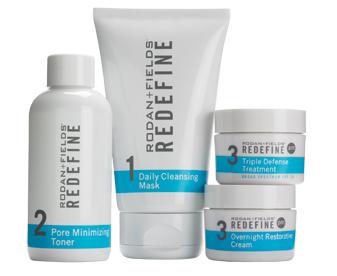 Redefine Skincare Regimen