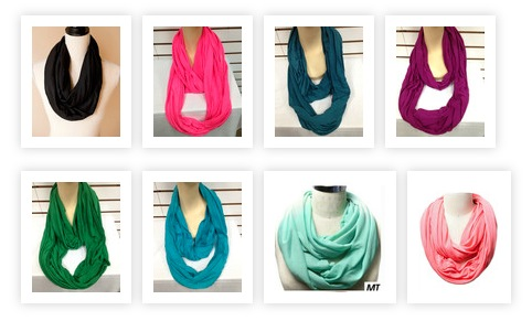 T-Shirt Infinity Scarves
