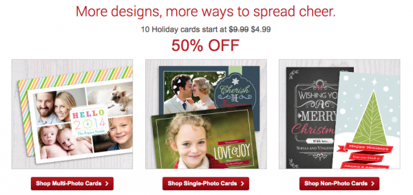 Vistaprint: Holiday Photo Cards for $0.50 shipped