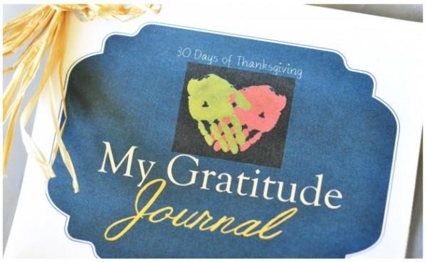 30 Days of Thanksgiving: Printable Gratitude Journal