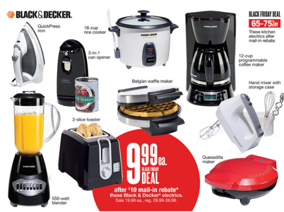 Kohls.com: Get Black & Decker Appliances (toaster, coffee maker, waffle maker, + more) for as ...