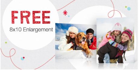 Free 8x10 Photo at Walgreens