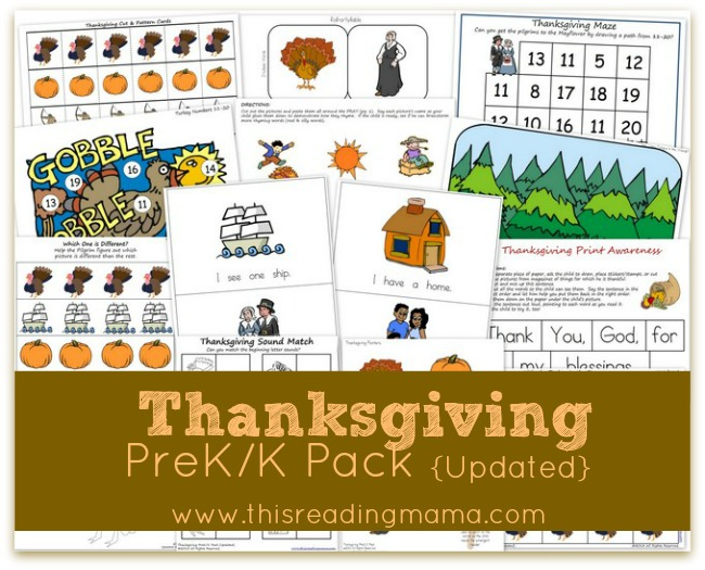 Thanksgiving-PreK-Pack-Update