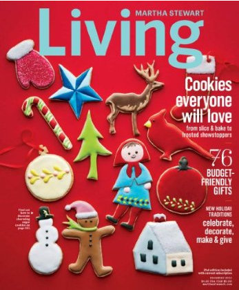 free one-year subscription to Martha Stewart magazine