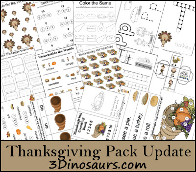 Thanksgiving Pack Update