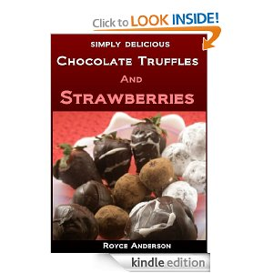 Chocolate Truffles and Strawberries