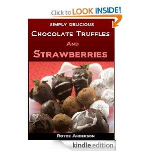 Chocolate Truffles and Strawberries