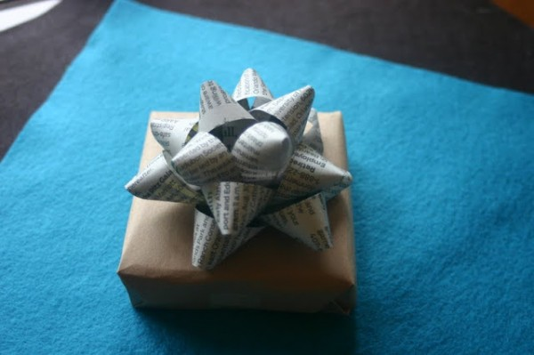Make your own gift bows