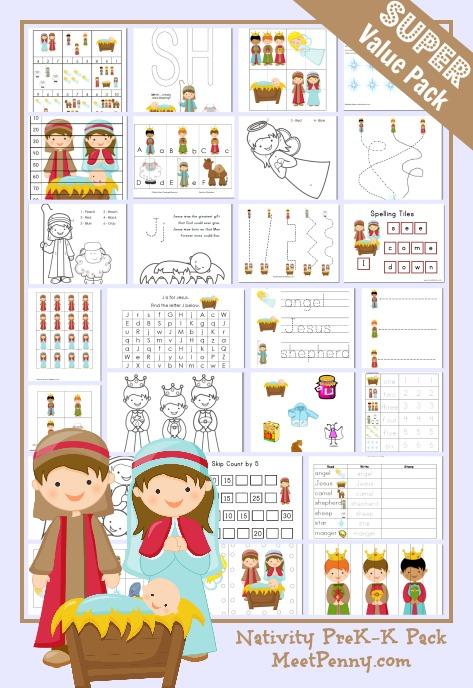 Nativity-Preschool-Printable-Activity-Pack