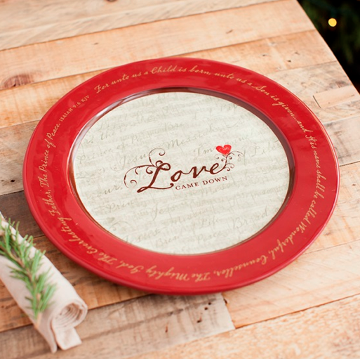 Love Came Down Platter Sale
