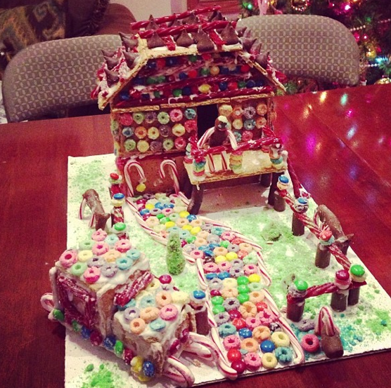 Gingerbread House-Making Party