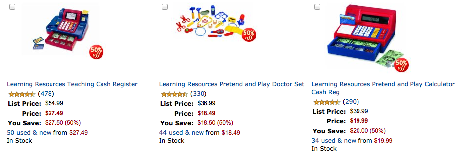 Amazon.com Select Learning Resources