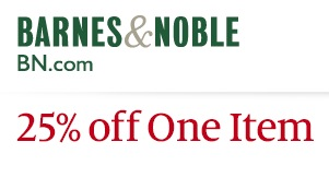 graphic relating to Barnes and Noble Printable Coupon called Barnes Noble Coupon: 25% Off A person Solution Economic Preserving Mother