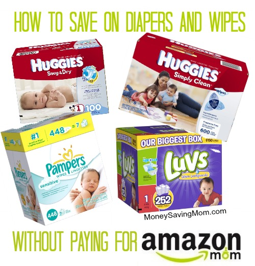 how to save on diapers and wipes