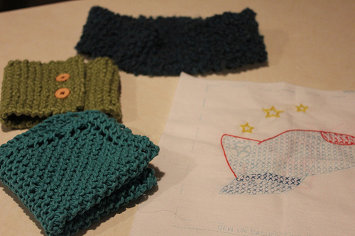 This Week's Handwork Projects