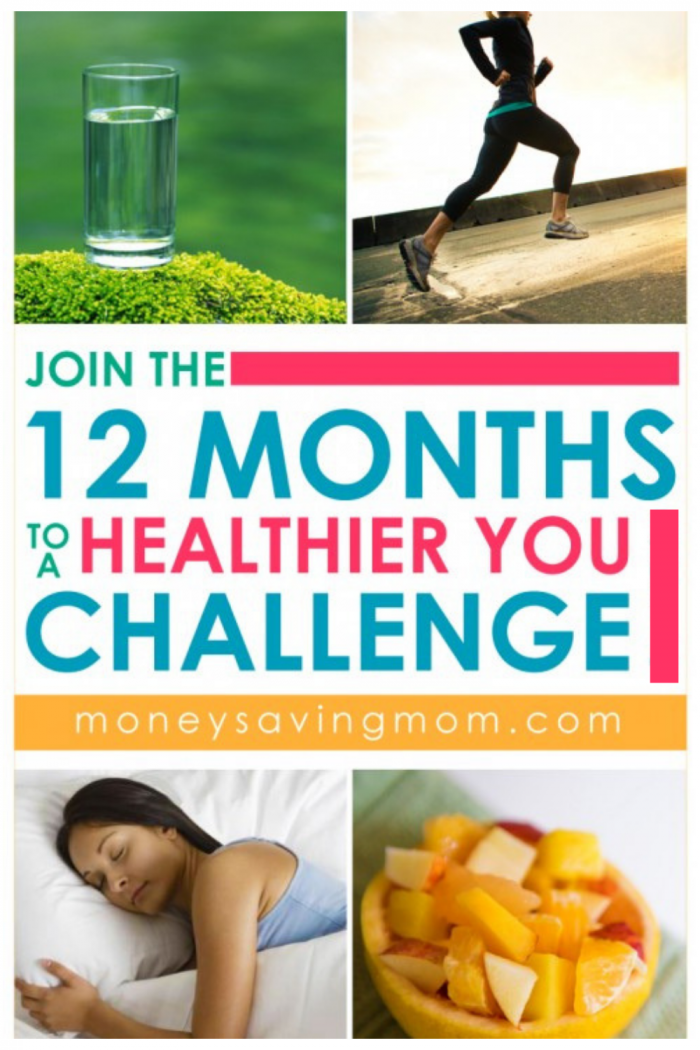 Join the 12 Months to A Healthier You Challenge 2019