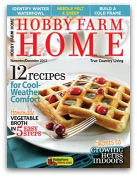Deeply Discounted Magazine Deals! Hobby Farm Home