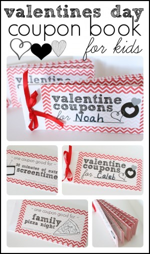 valentines day coupons - Valentines Day Coupon Book