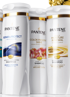 Free Pantene Shampoo & Conditioner