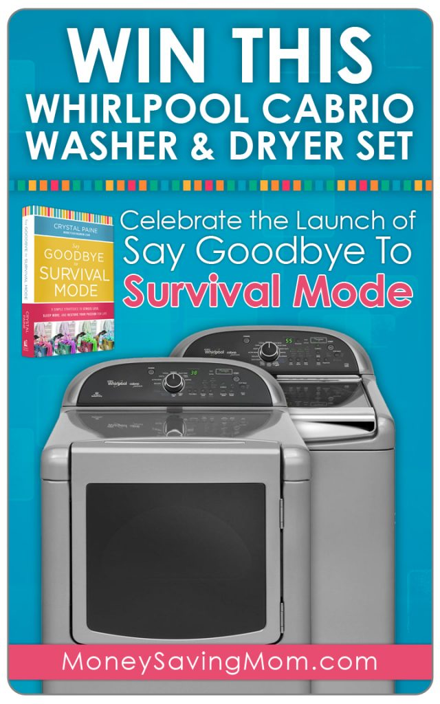 SGTSM Washer/Dryer Giveaway