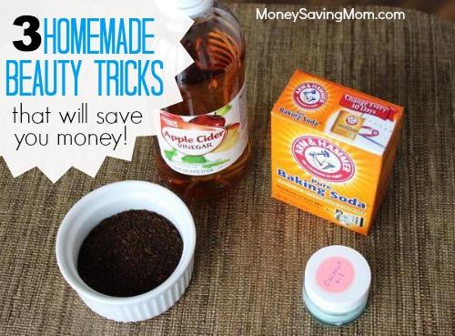 homemade beauty tricks