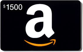 Enter to win a $1500 Amazon gift card!