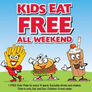 When All Kids Eat For Free >> Steak N Shake Kids Eat Free All Weekend Money Saving Mom