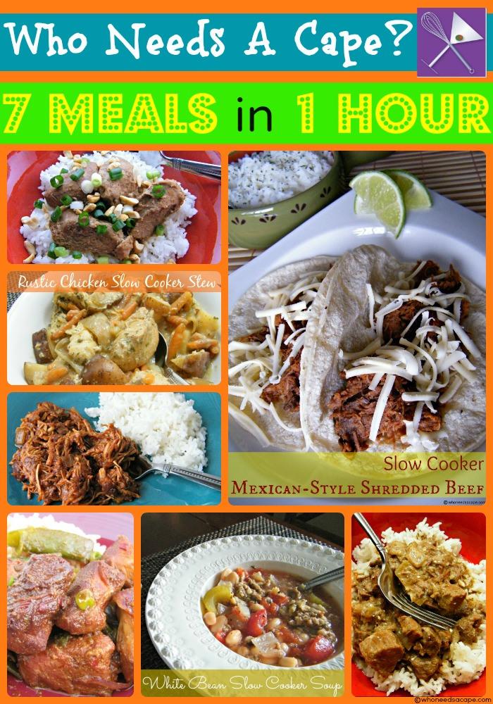 7 meals