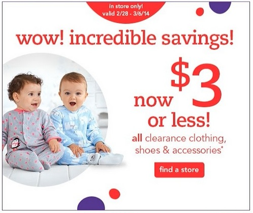 """Babies """"R"""" Us Clearance Clothing Shoes & Accessories $3"""