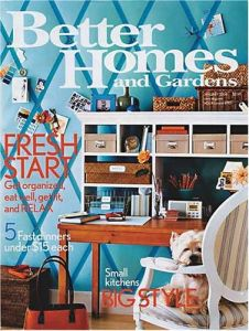 Free one year subscription to Better Homes Gardens magazine
