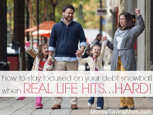stay focused on debt