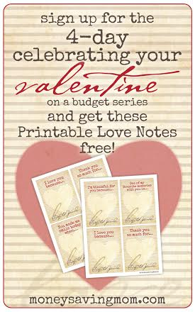 4 Days to Celebrate Your Valentine on a Budget