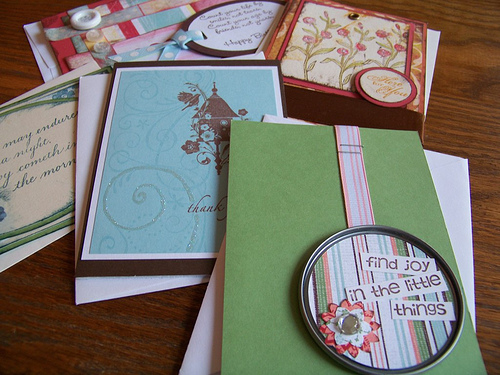 Making Homemade Cards