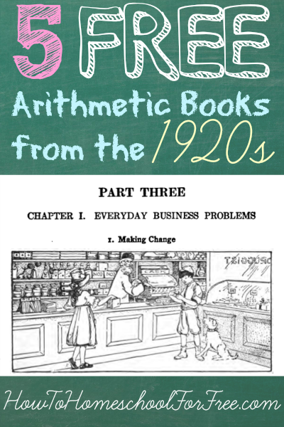 Arithmetic-Books-From-The-1920s