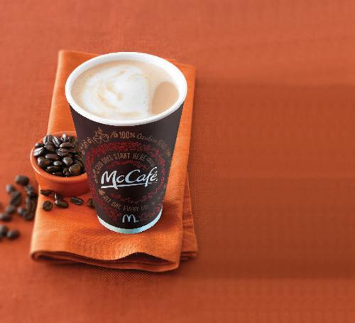 Free coffee at McDonald's