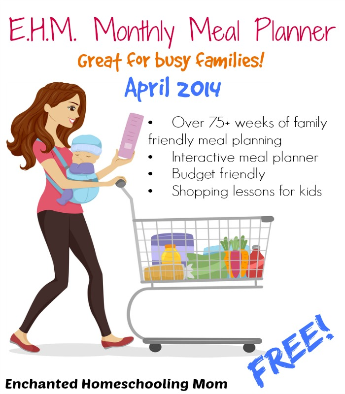 Free Printable Meal Planner With Over 75 Weeks Of Family