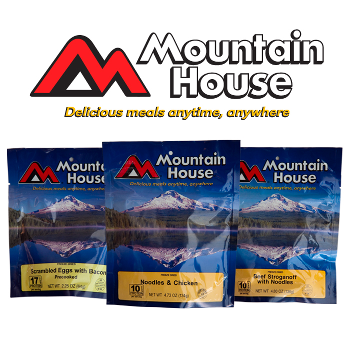 The Ready Store Free Sample Of Mountain House Freeze Dried Meals