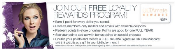 ULTA Loyalty Rewards Program