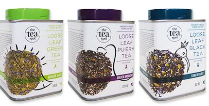 Free sample of Loose Leaf Tea from The Tea Spot