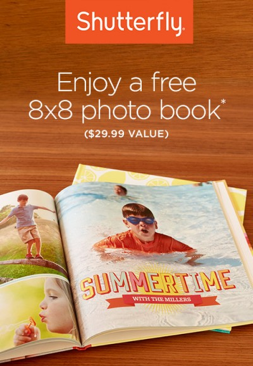 Free Photo Book from Shutterfly