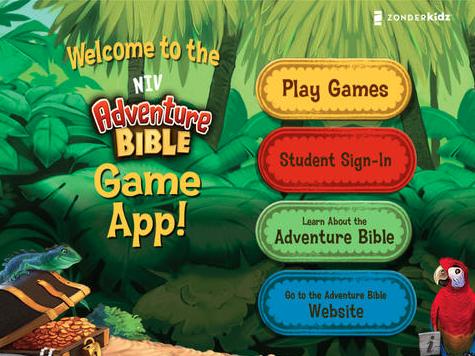 Adventure Bible site