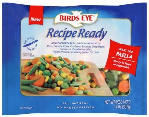 Free Birds Eye Recipe Ready Veggies